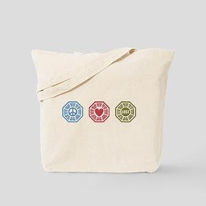 Peace Love Lost [dh_i] Tote Bag